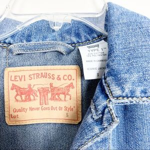 Levi's Jackets & Coats - Levi's | Iconic Type 1 Women's Jean Jacket Small
